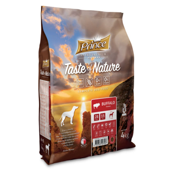 PRINCE Taste of Nature GRAIN FREE BUFFALO 4kg
