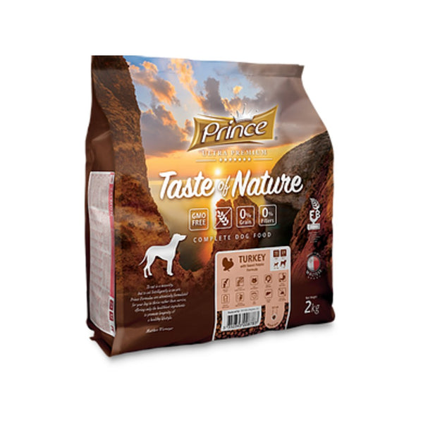 PRINCE Taste of Nature GRAIN FREE TURKEY SMALL DOG 2kg
