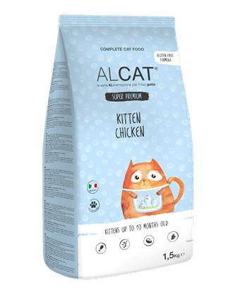 ALCAT SUPER PREMIUM KITTEN CHICKEN 400gr