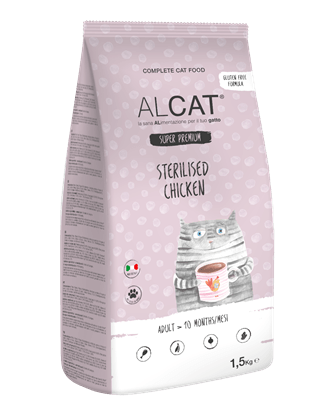 ALCAT SUPER PREMIUM STERILISED CHICKEN 400gr