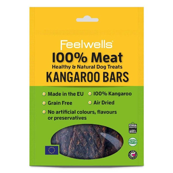 Feelwells Treats 100% KANGAROO BARS