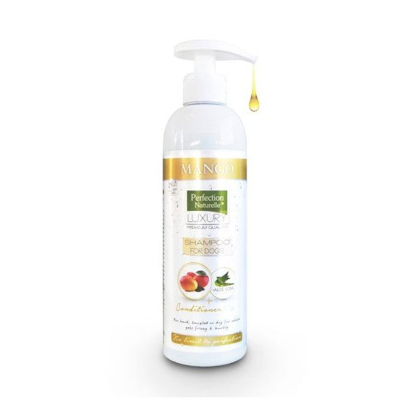 Perfection Naturelle LUXURY 2in1 ΣΑΜΠΟΥΑΝ & CONDITIONER ΣΚΥΛΟΥ MANGO 400ml