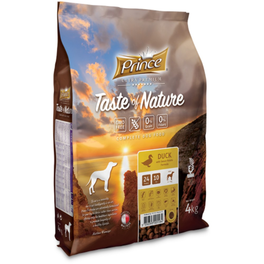 PRINCE Taste of Nature GRAIN FREE DUCK 4kg