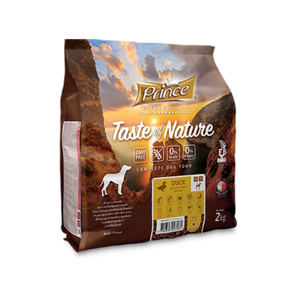 PRINCE Taste of Nature GRAIN FREE DUCK SMALL DOG 2kg