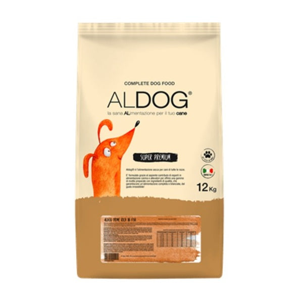ALDOG SUPER PREMIUM SALMON MEDIUM 12kg