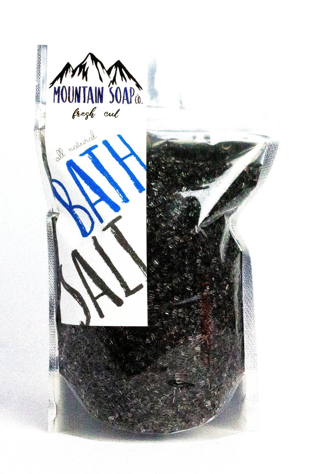 Peppermint Tea-Tree W/ Charcoal Salt