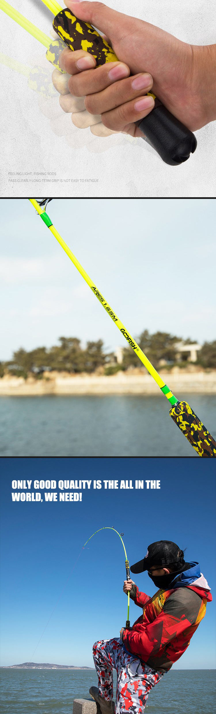 goofish fishing rod