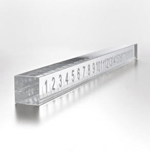 "Glass ruler ""Kasmi"""
