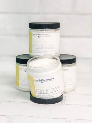 natural Lemon hand cream, organic lemon body butter, Lemon body butter