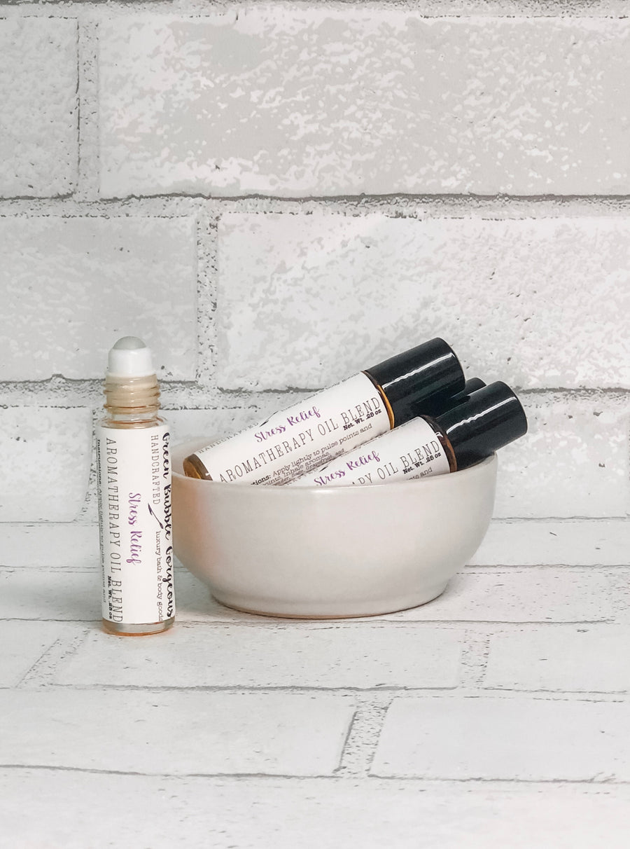 Aromatherapy Roll On- Stress Relief