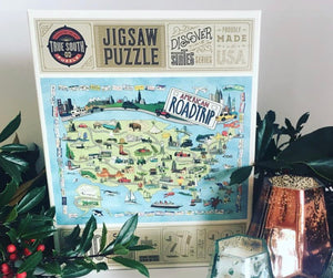 Puzzle- American Road Trip