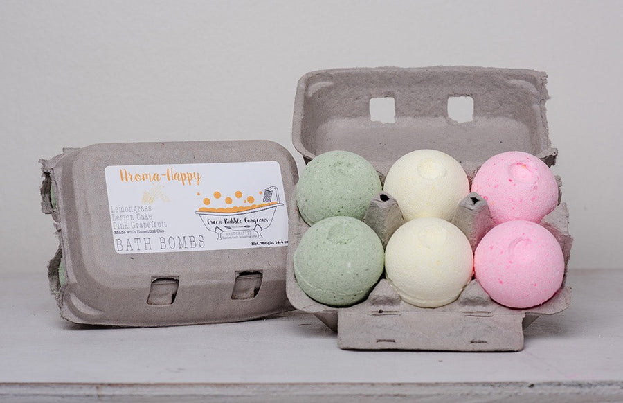 Easter egg bath bombs, citrus bath bomb set, bath bomb gift set