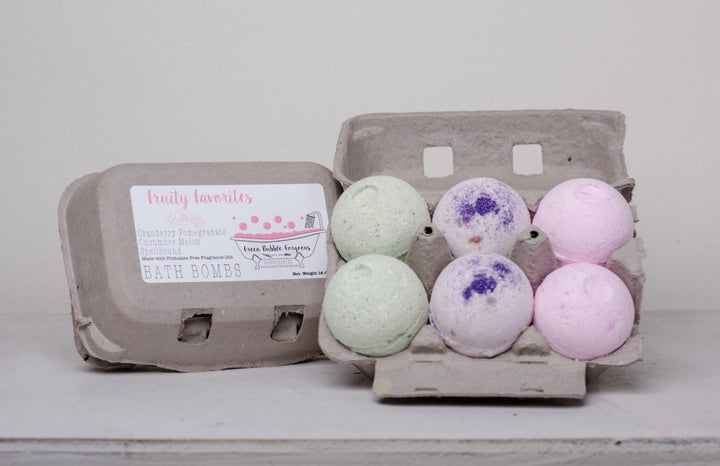 bath bomb gift set, easter bath bombs