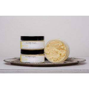 lemon sugar scrub, lemon shea scrub, what is the purpose of sugar scrub