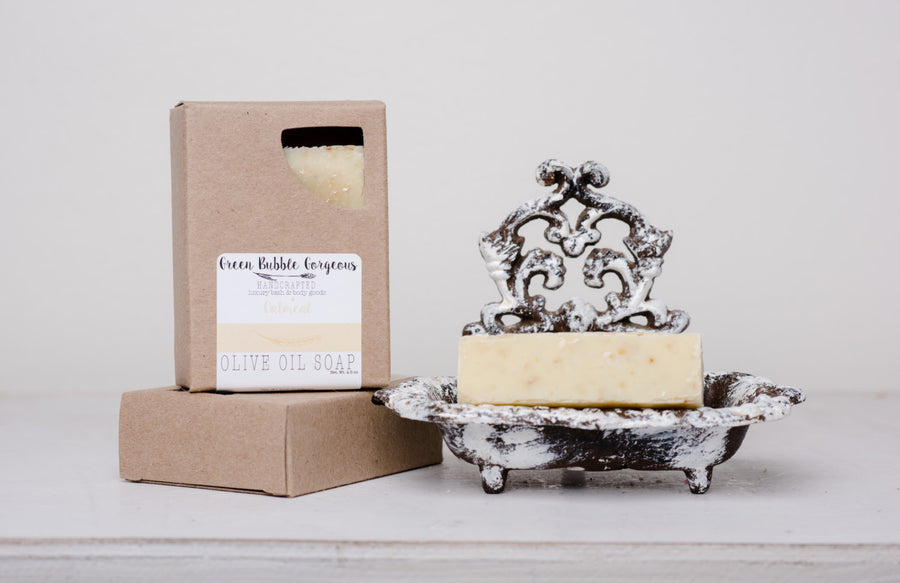 Vegan Oilive Oil Soap - Oatmeal