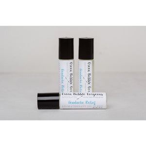 oils for headache, head roll on, essential oils for headache, headache essential oil roller