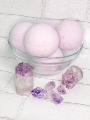 The Stress Shooter Crystal Bath Bomb, Stress Bath Fizz