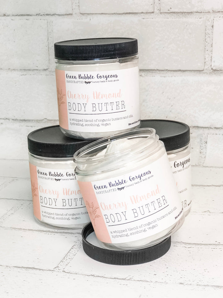 Whipped Body Butter- Cherry Almond