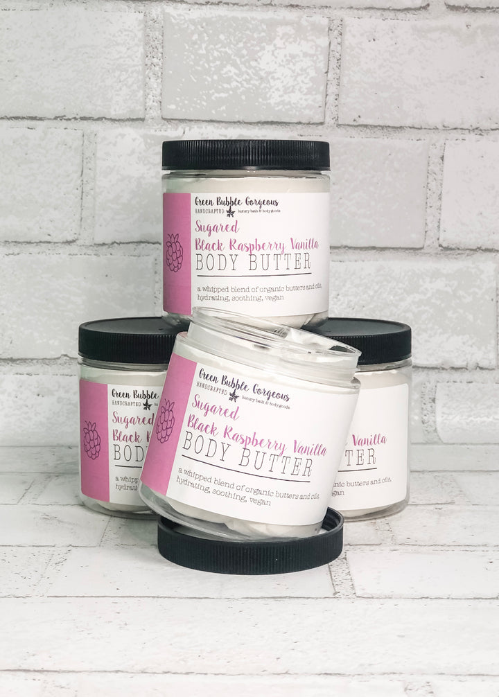 Whipped Body Butter - Sugared Black Raspberry Vanilla