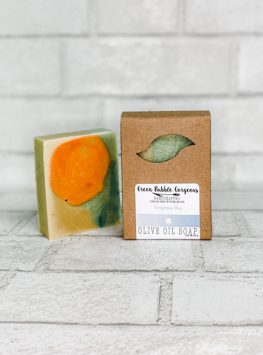 Vegan Olive Oil Soap - Gorgeous Day