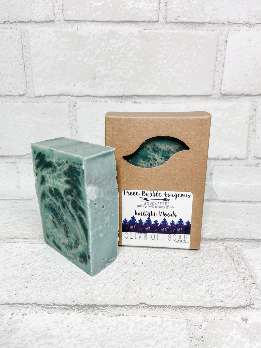 Vegan Olive Oil Soap - Twilight Woods