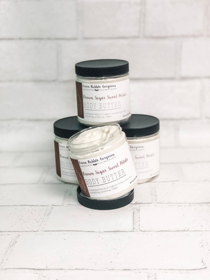Whipped Body Butter- Brown Sugar Sweet Potato