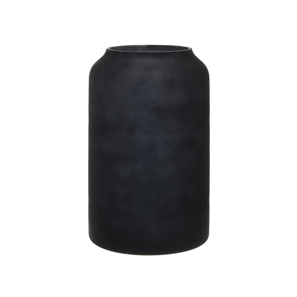 Zakkia Deco Vase - Tall Black Frost