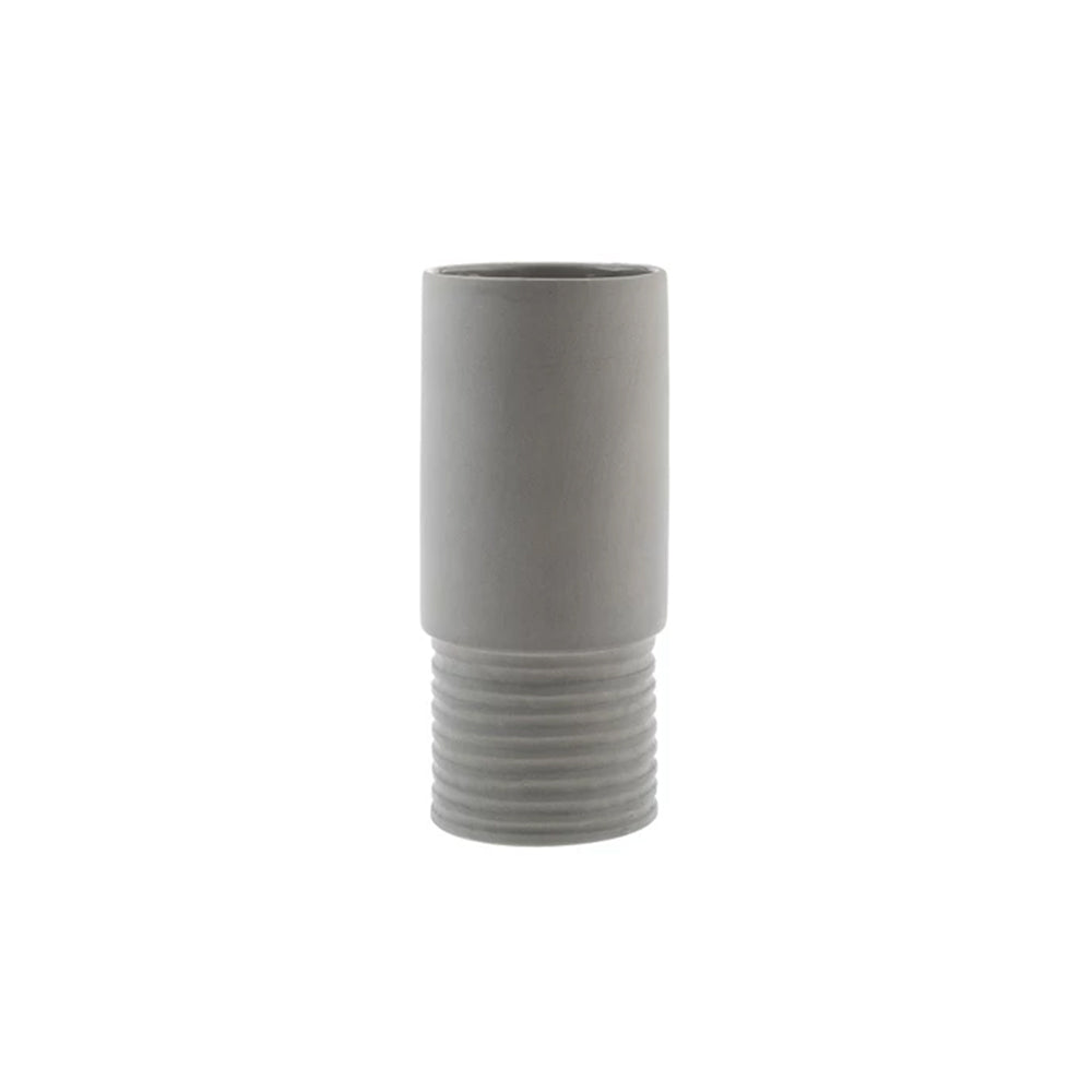 Zakkia Tall Vase - Small Grey