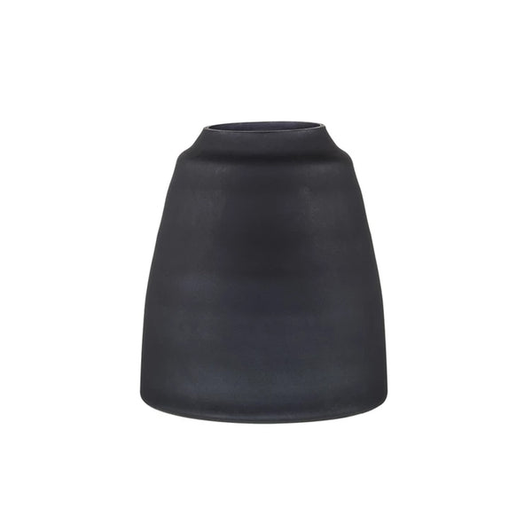Zakkia Tapered Vase - Black Frost