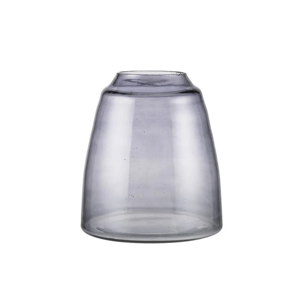 Zakkia Tapered Vase - Smoke