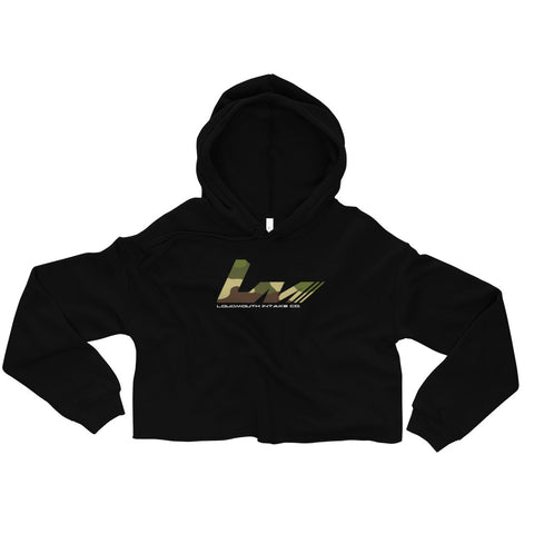 Loud Mouth Ladies Crop Hoodie