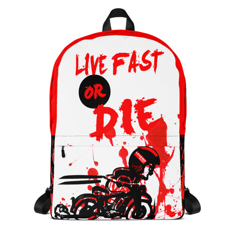 Legend Intl. | Live Fast or DIE Collectible Backpack