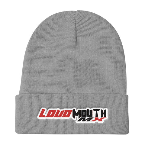 Loud Mouth Moto Beanie