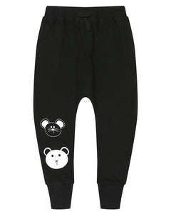 Harem Pants- Animal Faces by Turtledove London