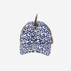 Trailblazer Camo Leopard Hat by Little Hotdog Watson