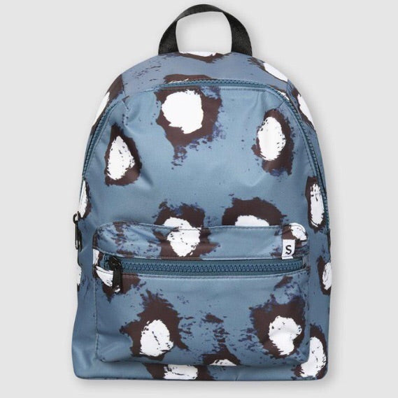 Painted Dot Backpack Blue by Small Stories