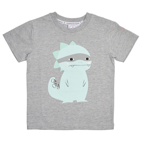 Super Dino Marl T-shirt by Scamp & Dude