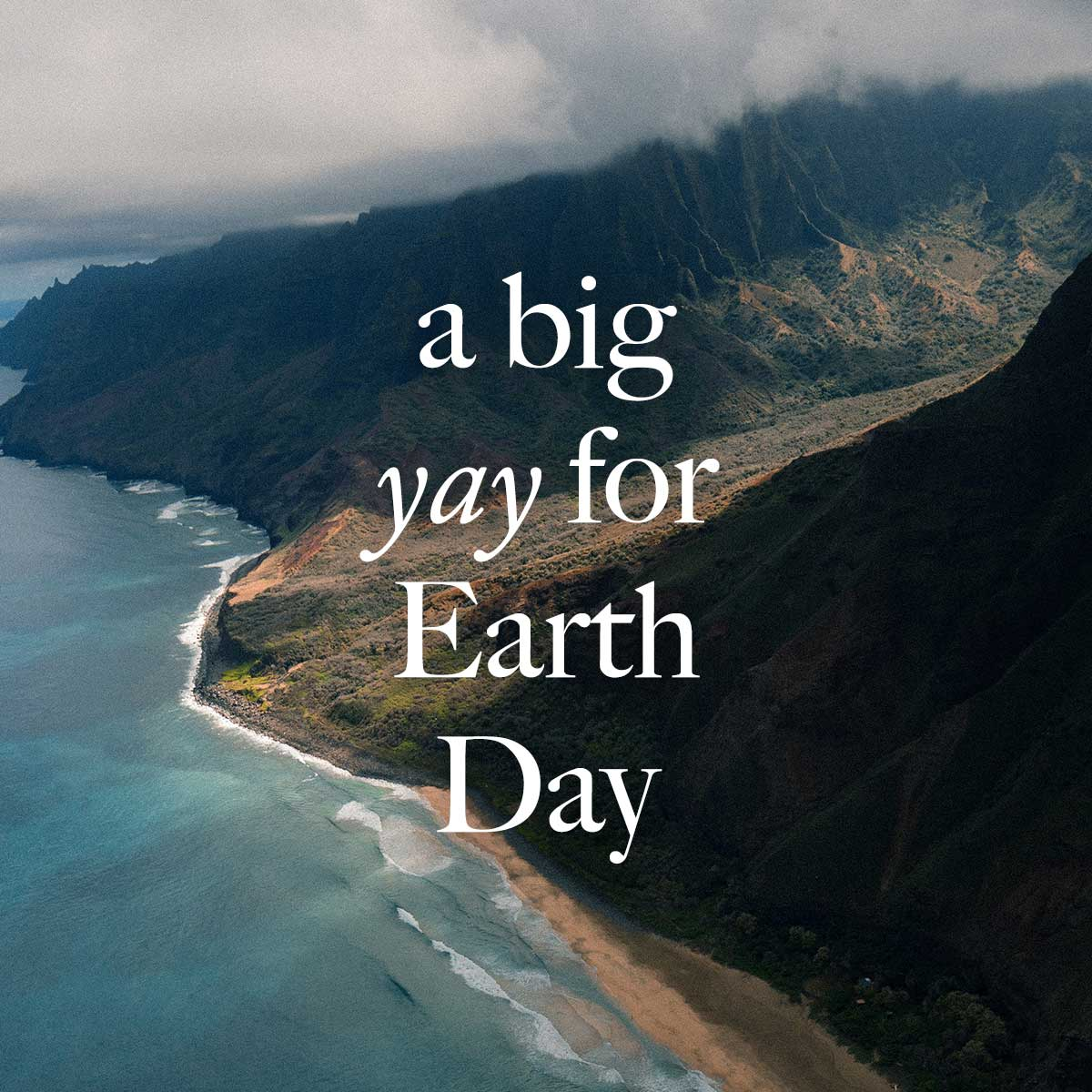 Let's Hear It For Earth Day!