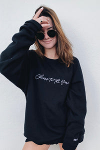 Cheers Oversized Crewneck