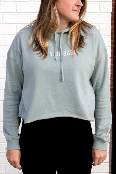 Be You Cropped Hoodie