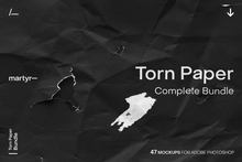 Load image into Gallery viewer, Torn Paper: Complete Bundle — Mockup Pack