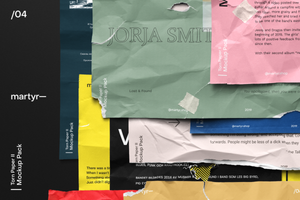 Torn Paper: Complete Bundle — Mockup Pack