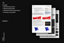 Load image into Gallery viewer, Flags I // martyr— // Mockup Pack
