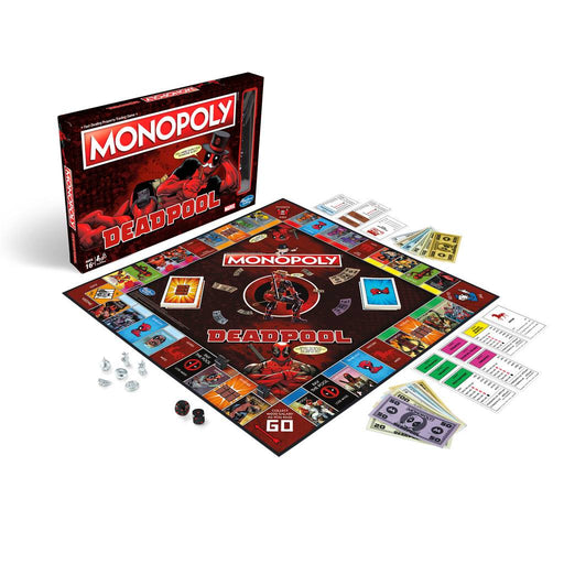 大富翁 - Deadpool死侍版 | DEADPOOL MONOPOLY