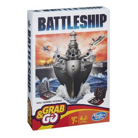 孩之寶 - Battleship輕便版遊戲 | BATTLESHIP GRAB AND GO