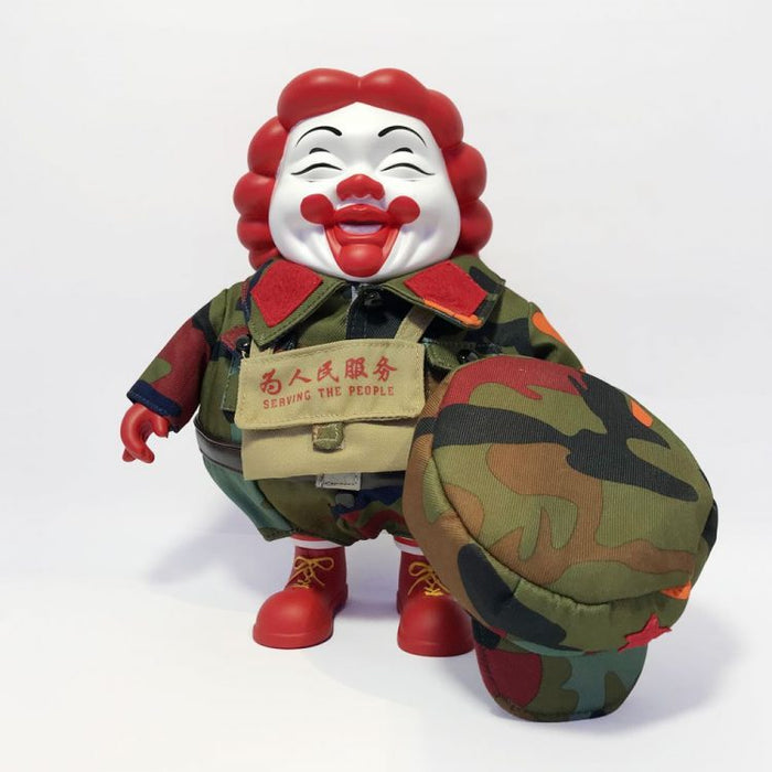 藝術大師 Ron English Mc Supersized Camo – Jakarta