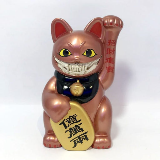 藝術大師 Ron English X SFBI LUCKY CAT GRIN -Copper Version