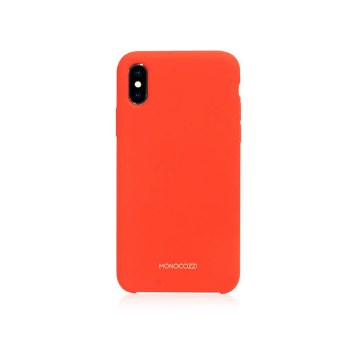 GRITTY | Liquid Silicon Stain Resistant Case for iPhone XS - Red