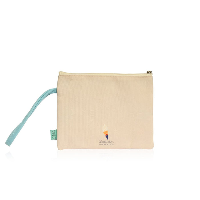 Little Lon x MONOCOZZI | A6 Canvas Zipper Pouch - Hong Kong Tram