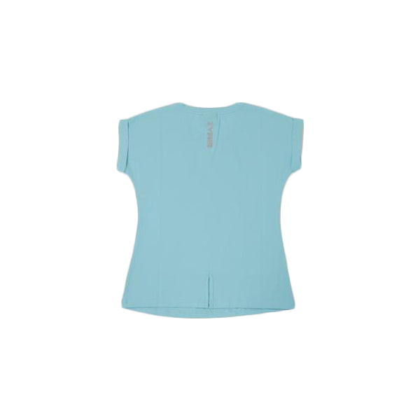 Women Fashion Tee-Sea Blue - POPx